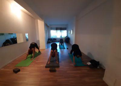 clase de yoga con alexia